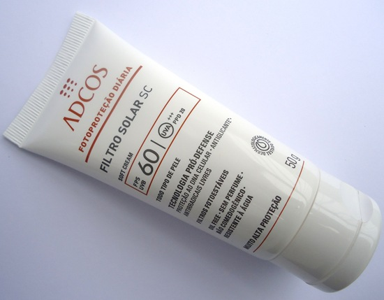 Adcos - Filtro Solar Soft Cream FPS60