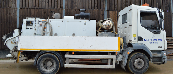 Concrete Line Pump Hire London | Trenchcon | Call Us 020