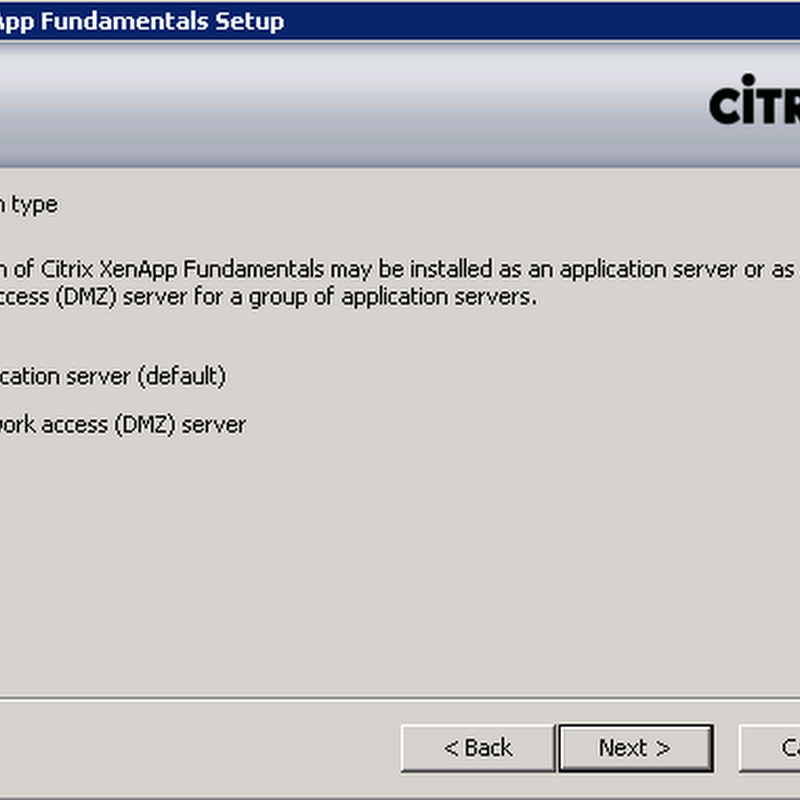 Review: Citrix XenApp Fundamentals 3