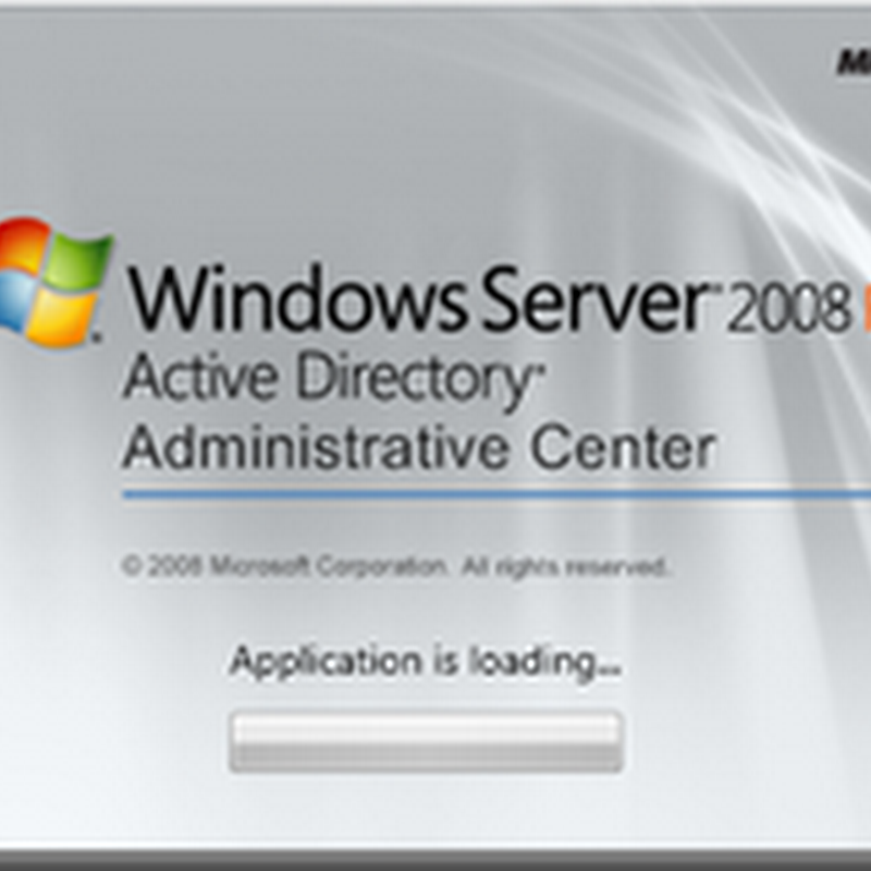 Active Directory Administrative Center