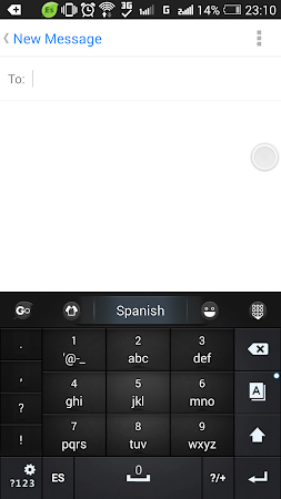 Spanish Language - GO Keyboard 3.1 screenshot 216213