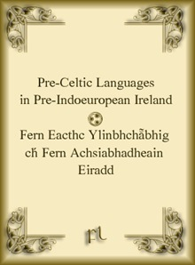 Pre-Celtic Languages Cover