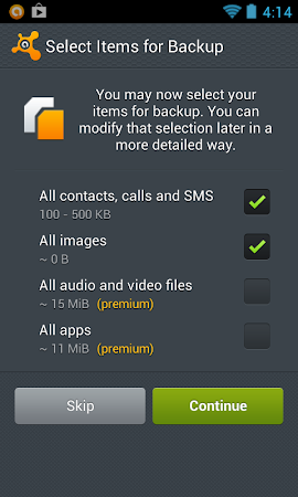 Mobile Backup & Restore 1.0.7754 screenshot 6109