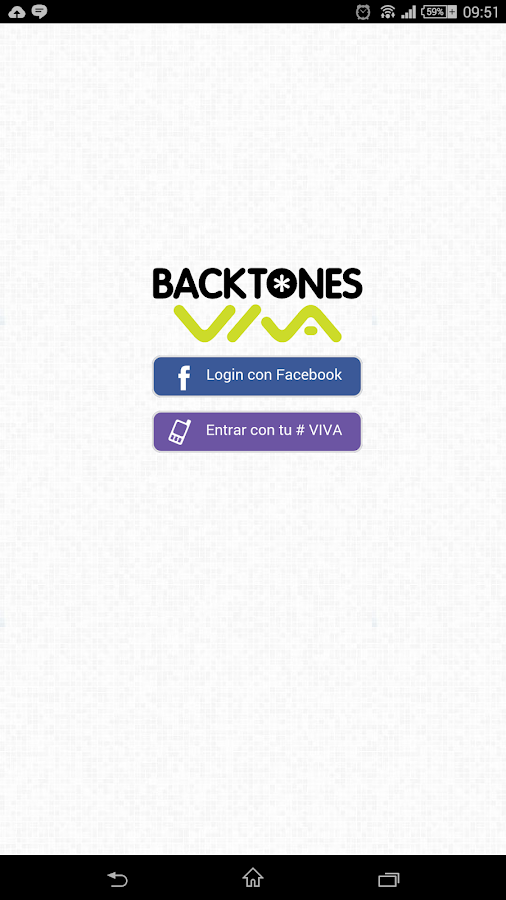 Backtones VIVA- screenshot