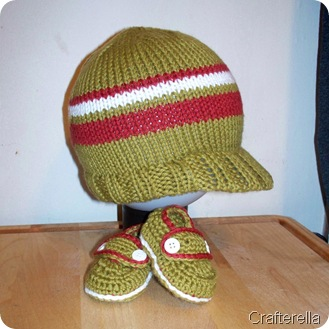 baby hat and loafers 2