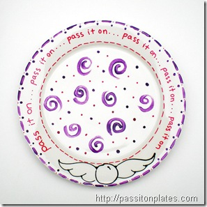pass it on plate swirls