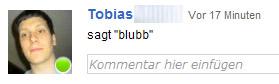 Zeit, Updates @ Orkut