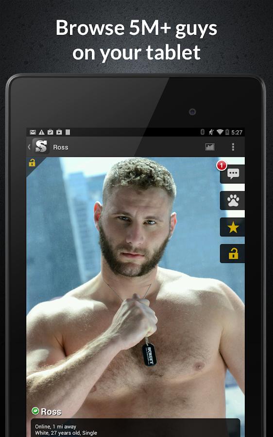 SCRUFF - screenshot