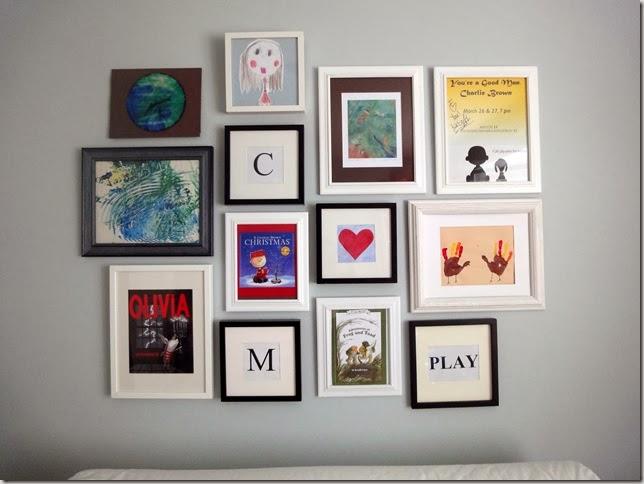 playroom art wall vanessa francis design. Black Bedroom Furniture Sets. Home Design Ideas