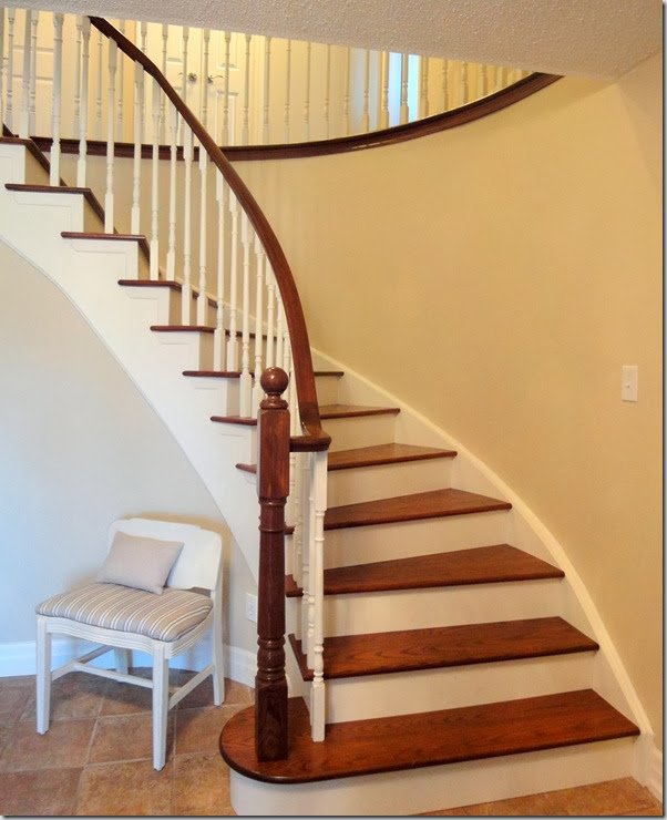 Decor Happy: Work In Progress Wednesday: Updating Stairs