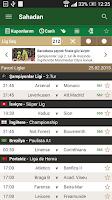 Screenshot of Sahadan Live Scores