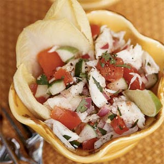 Mexican-style Crabmeat Salad.