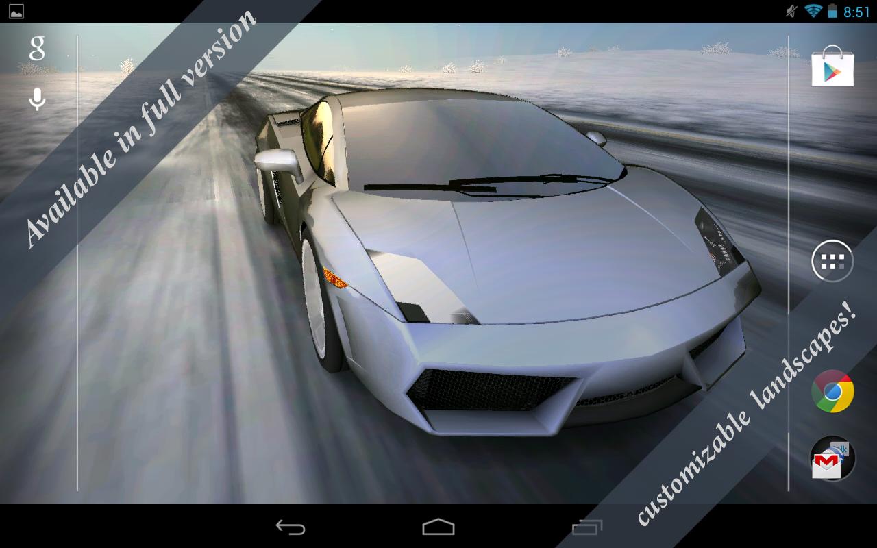 3d car live wallpaper free - revenue & download estimates - google