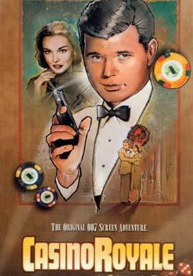 James Bond 21 - Casino Royale (1954) affiche