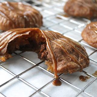 Paleo Pumpkin Empanadas with Salted Caramel Drizzle