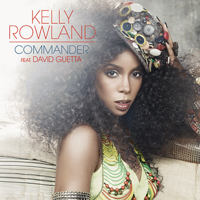 Official single art: Kelly Rowland - Commander