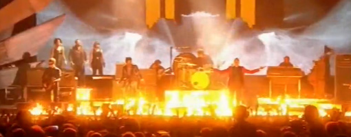Kasabian @ The BRIT awards 2010