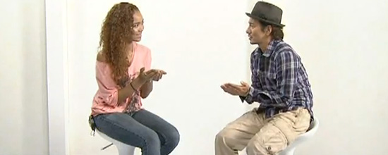 Crystal Kay's interview with Yoshikazu Nonomura
