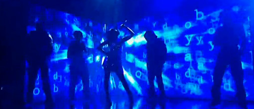 Alexandra Burke's 'Bad boys' performance on GMTV