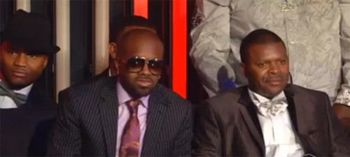 Jermaine Dupri and co are NOT impressed.
