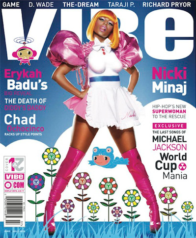 Nicki Minaj covers the June '10 issue of Vibe magazine