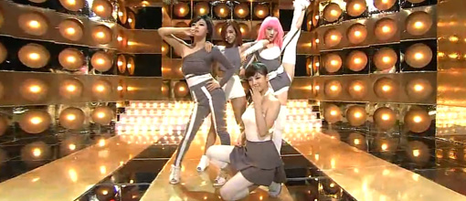Miss A perform 'Good girl, bad girl' at Inkigayo | Live performance