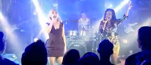 The Sugababes MSN performance at Movida | Live performances