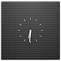 Transparent Clock Widget 2×2 logo
