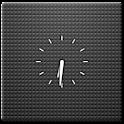 Transparent Clock Widget 2×2 logo
