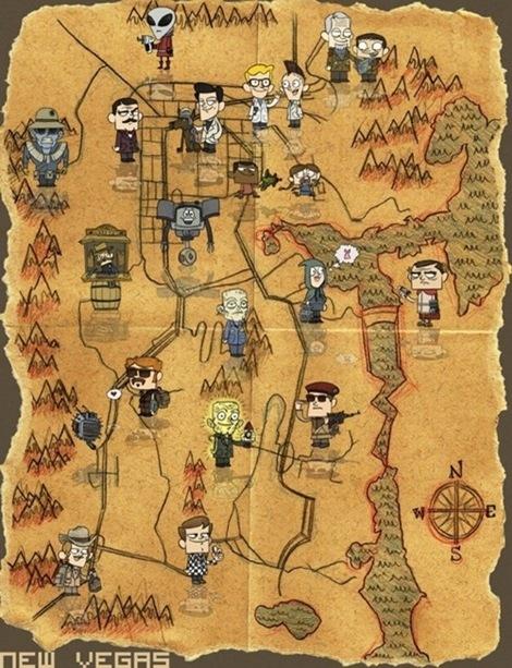 Spass und Spiele: Diese Fallout Las Vegas Karte ist nicht ...