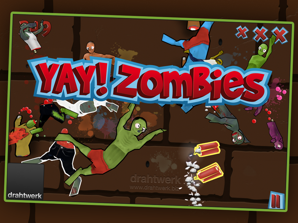 Slice Zombies Gold - screenshot