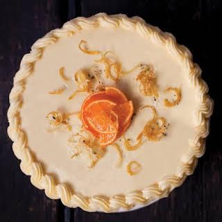 Clementine Meringue Cake With Rosemary.
