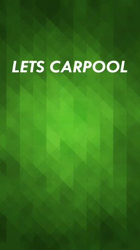 Let's CarPool