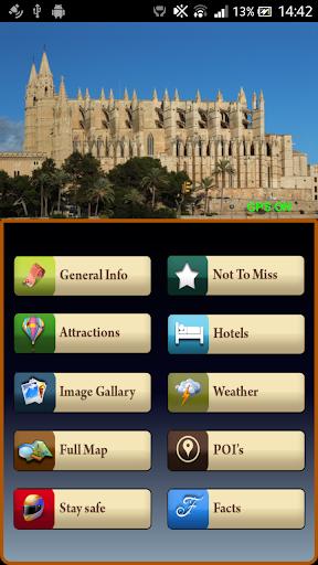 Palma de Majorca Offline Guide