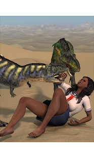 Schoolgirls and Dinosaurs 3