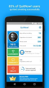 Quit smoking - QuitNow! v4.1.08