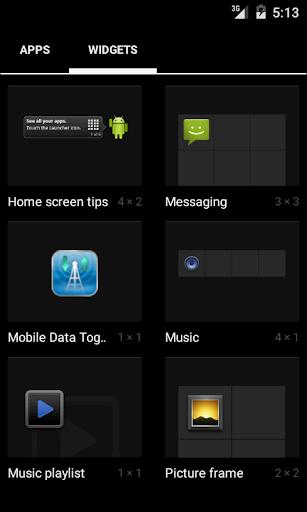 Data Mobile Toggle Widget