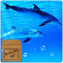 Underwater Swimming Dolphin icon