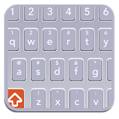XP GREY SMART KEYBOARD SKIN HD