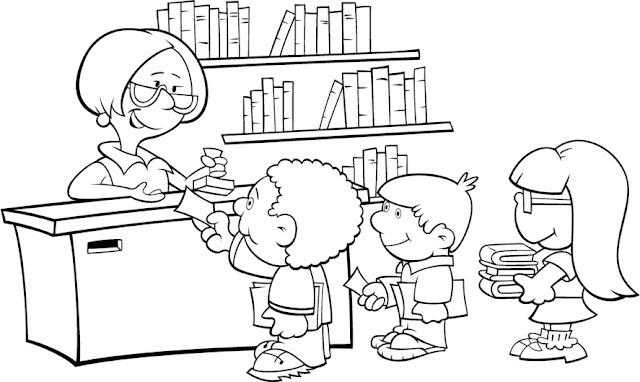 Dibujos Dia Del Libro Para Colorear