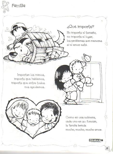 LAMINAS DEL DIA DE LA FAMILIA PARA PINTAR
