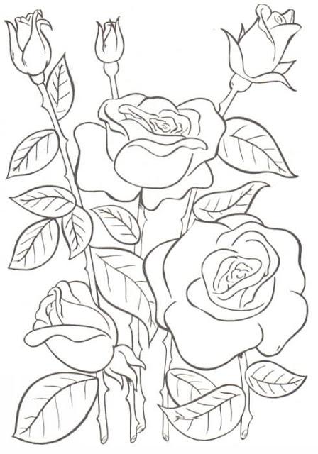 Dibujos De Flores Para Colorear Por Niños