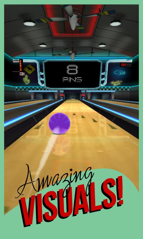 Rocka Bowling 3D- screenshot