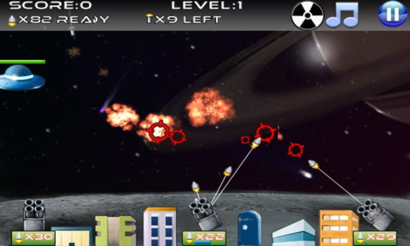 Missile Defense - screenshot