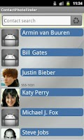 Screenshot of Contact Photo Finder