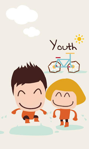 Youth GO Launcher Theme
