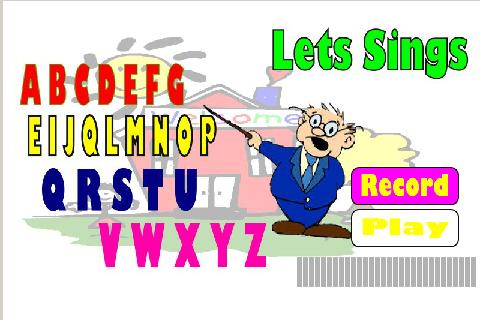 Belajar Abjad A - Z - screenshot