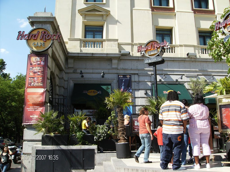 Hardrock cafe - Madrid