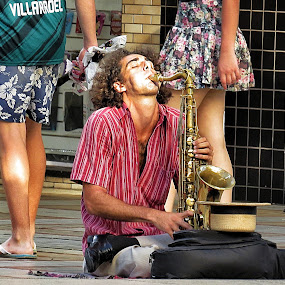 Music in the street by Edson Leguth - People Street & Candids (  )