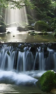 Magic Waterfall wallpaper - náhled